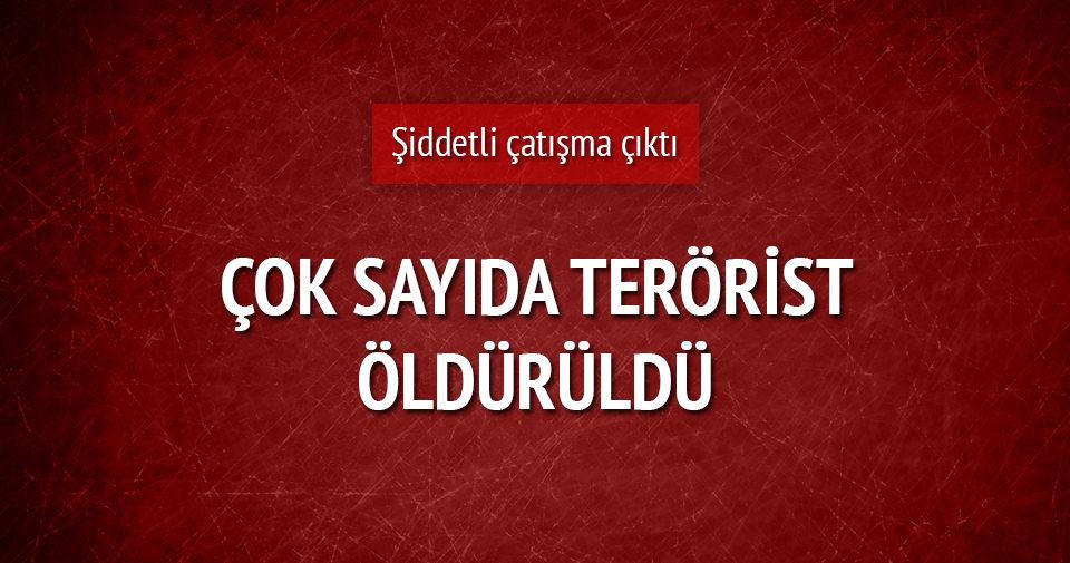 İdil'de çatışma çıktı: 16 PKK'lı öldürüldü