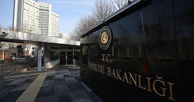 Dışişleri Bakanlığı Irak'taki saldırıyı kınadı