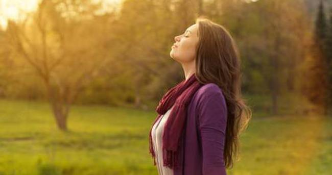 Doğru nefes almak stresi azaltıyor