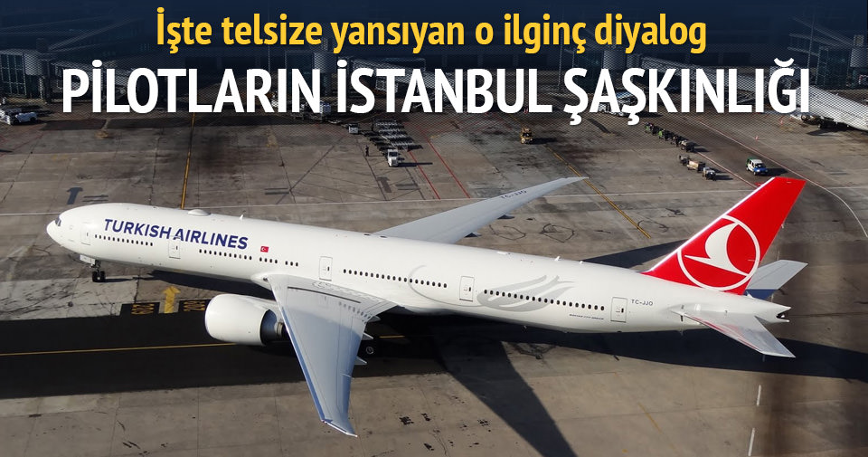 Pilottan kuleye: İstanbul'u bu kadar boş görmemiştik