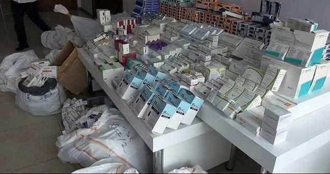 İstanbul'da büyük ilaç operasyonu