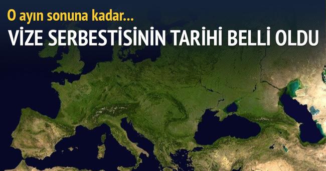 Türkiye'ye vize serbestisi Haziran'da