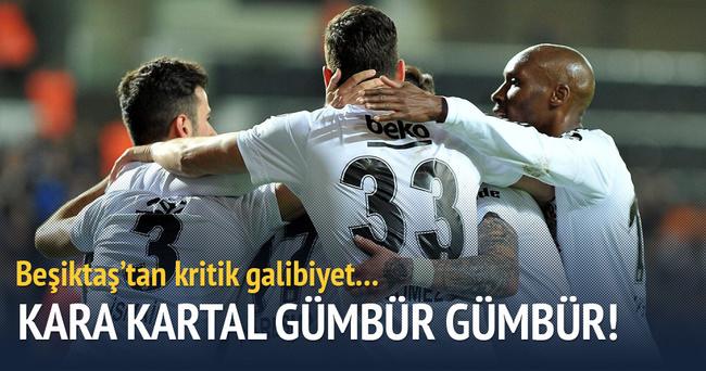 Beşiktaş Eskişehirspor'u rahat geçti