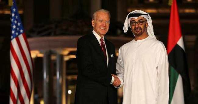 Biden, Abu Dabi Veliaht Prensi Al Nahyan ile bir araya geldi