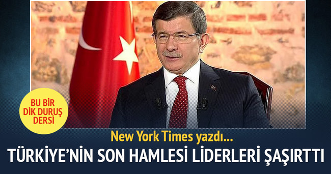 New York Times: Türkiye'nin dik duruşu AB liderlerini şaşırttı