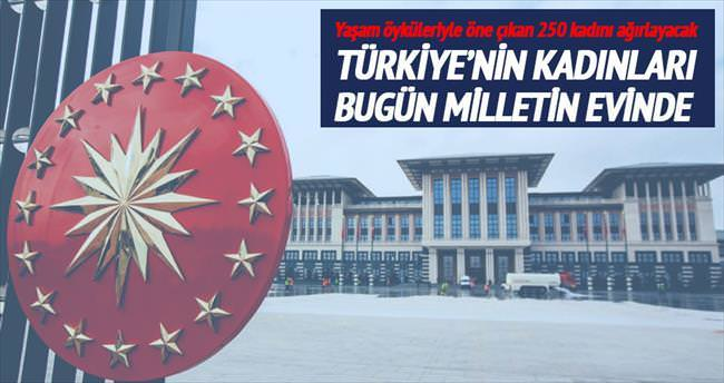 Türkiye'nin kadınları bugün milletin evinde