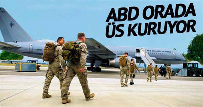 'ABD, Kürt bölgesine hava üssü kuruyor'