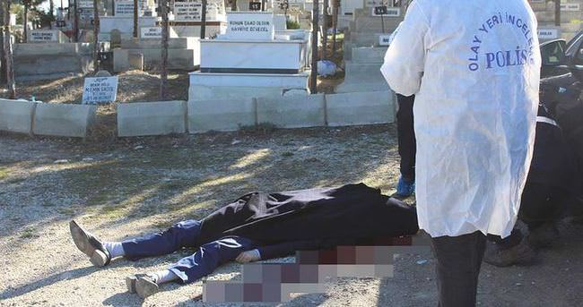 Mezarlıkta intihar!
