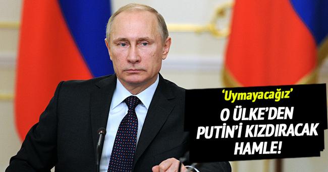 O ülkeden Rusya'yı kızdıracak açıklama!