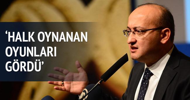 Başbakan Yardımcısı Akdoğan PKK'ya yüklendi