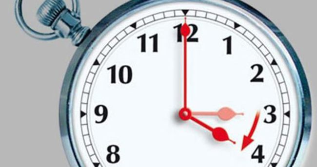 Yaz saati uygulaması 27 Mart'ta başlayacak