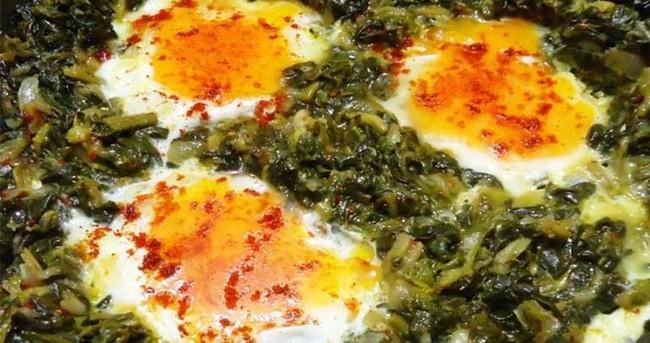 Yumurtalı Ispanak Nasıl Yapılır?