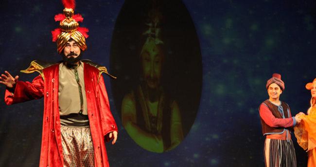 Sihirli dünyada bir Aladdin