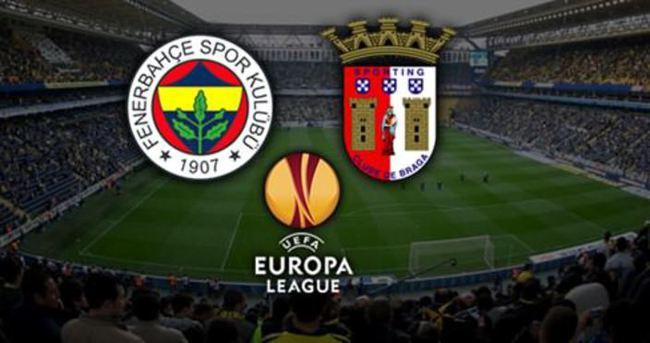 Fenerbahçe - Braga maçı saat kaçta, hangi kanalda?