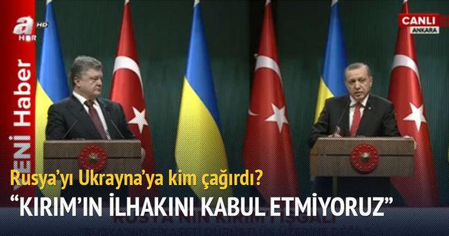 Cumhurbaşkanı Erdoğan: Rusya'yı Ukrayna'ya kim çağırdı acaba?