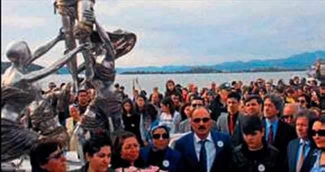 Özgecan Parkı'na duygusal açılış