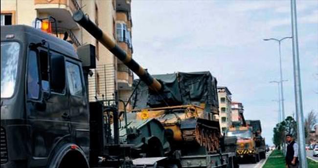Yüksekova'da da operasyonlar başladı