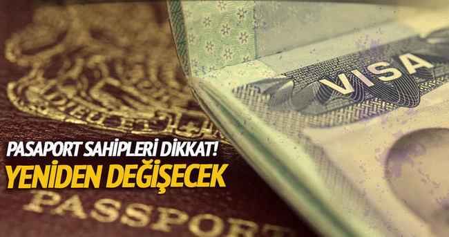 Pasaport sahipleri dikkat