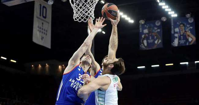 Euroleague'de Darüşşafaka Doğuş - Anadolu Efes kapışması