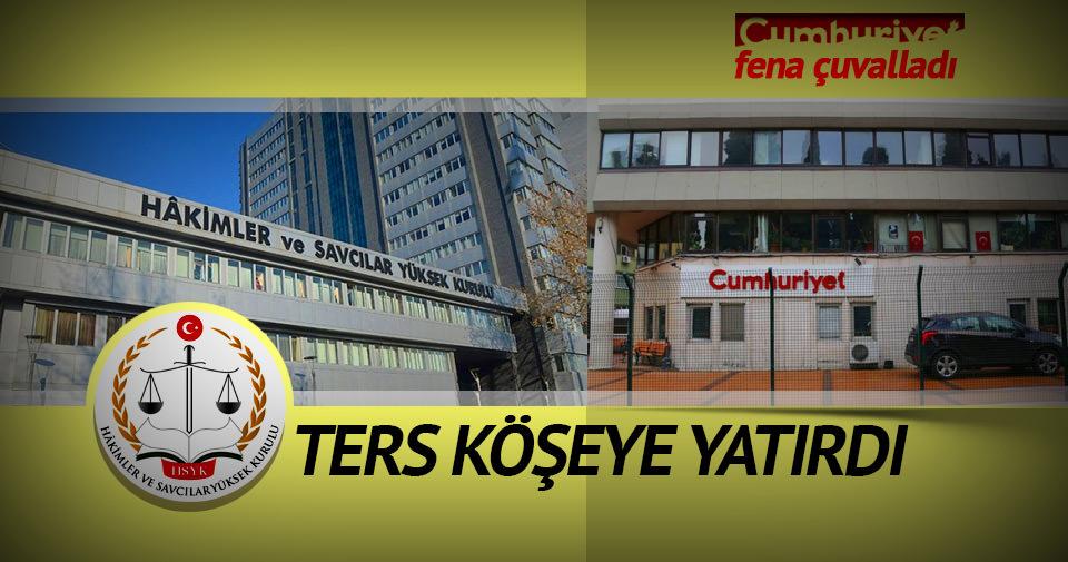 Cumhuriyet Gazetesi fena çuvalladı