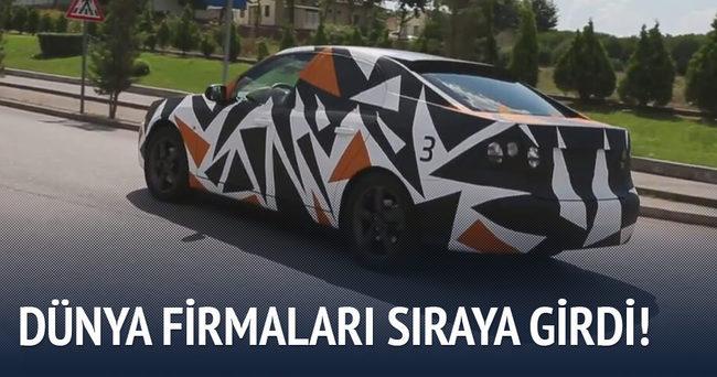 Dünya firmaları yerli otomobil için sıraya girdi