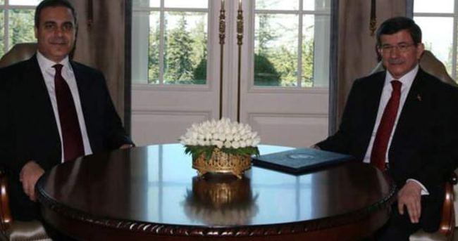 Başbakan Ahmet Davutoğlu, Hakan Fidan'ı kabul etti