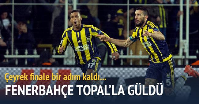 Fenerbahçe UEFA Avrupa Ligi'nde avantaj yakaladı