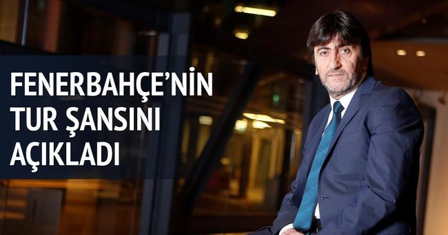 Rıdvan Dilmen: Fenerbahçe'nin tur şansını açıkladı!