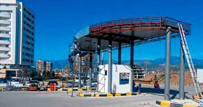 Kumluca terminali modern hale geldi