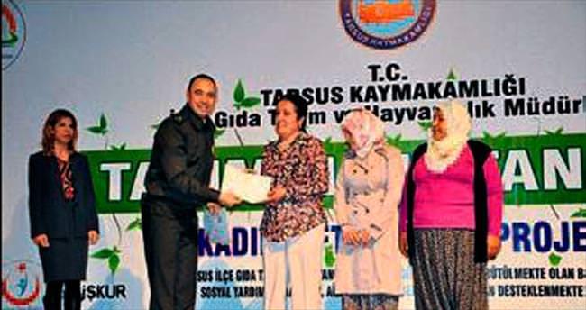 Tarımın sultanları sertifikalarını aldı