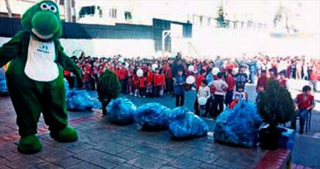 60 ton atık geri kazandırıldı