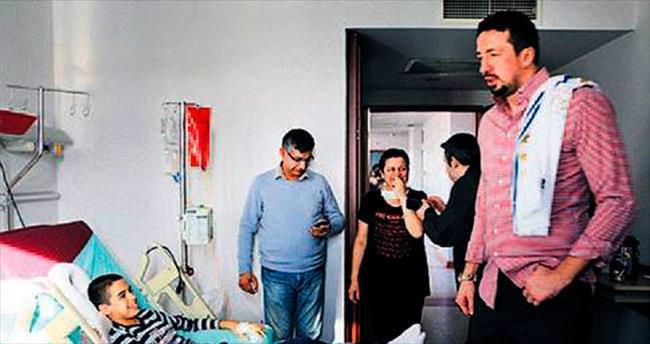 Türkoğlu'ndan duygu yüklü ziyaret