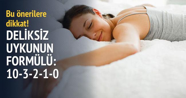 İyi uyumanın formülü: 10-3-2-1-0