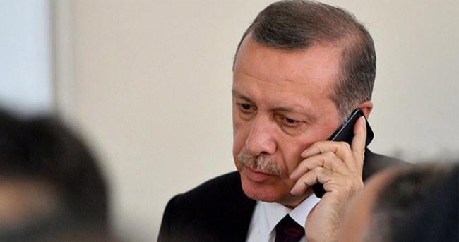 Erdoğan'dan milli güreşçilerimize tebrik telefonu