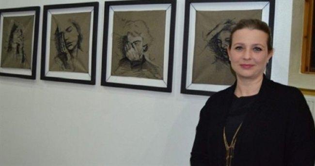Bu portreler iğne iplikle yapıldı