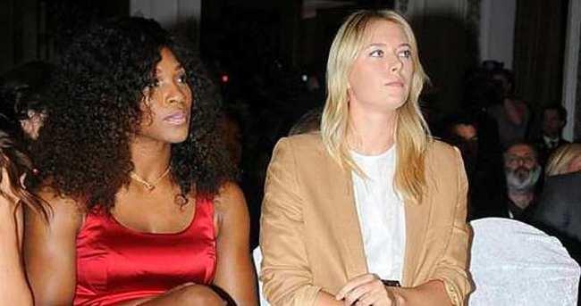 Sharapova'ya Serena desteği