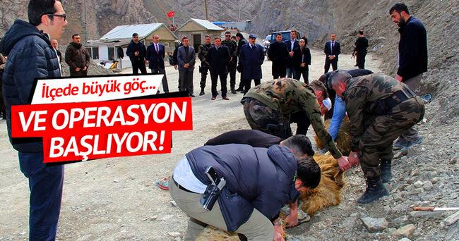 Yüksekova'da PKK'lılara karşı operasyon başlıyor!