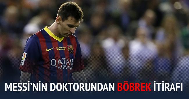 Messi'nin doktorundan böbrek taşı itirafı