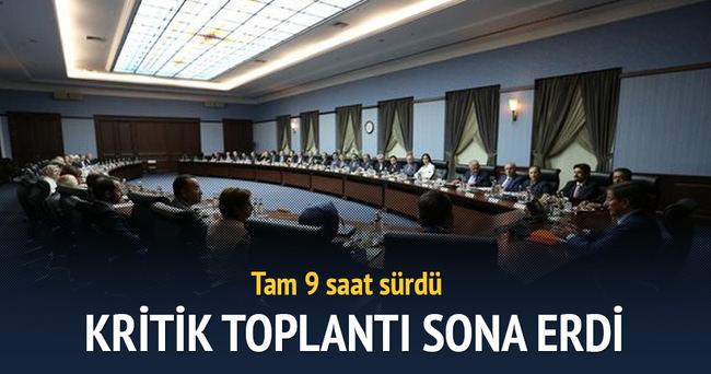 AK Parti MKYK toplantısı bitti