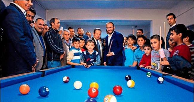 Aladağ Belediyesi ilk Gençlik Gelişim Evi'ni hizmete sundu