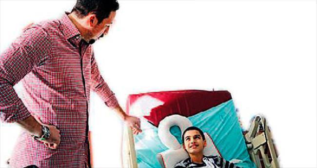 Hidayet Türkoğlu'ndan moral ziyareti