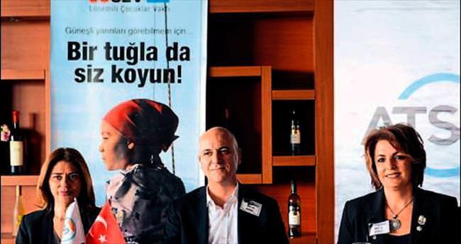 Antalyalı kadın girişimciler LÖSEV anneleri ile buluştu