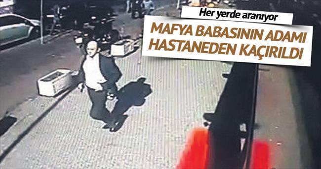 Nuriş'in adamı, tedavi için getirildiği hastaneden kaçırıldı