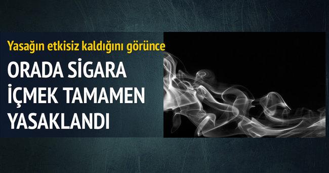 Bu köyde sigara tamamen yasak