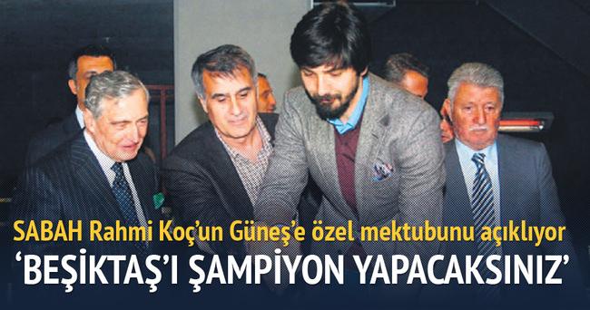 Siz Beşiktaş'ı şampiyon yapacaksınız