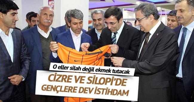 Silopi'de bin 200, Cizre'de 2 bin kişi işe alınacak