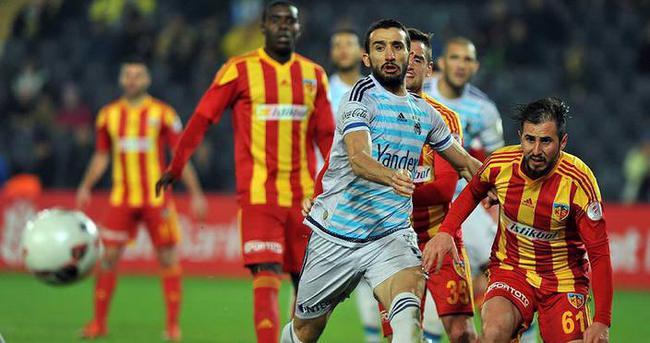 Formda Fenerbahçe'nin konuğu Kayserispor olacak