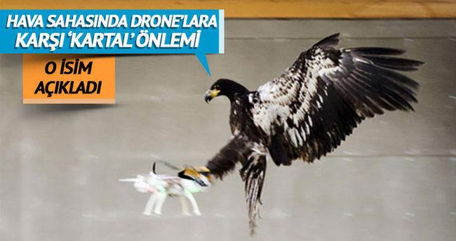 Türk hava sahasını dronelara karşı 'kartallar' koruyacak