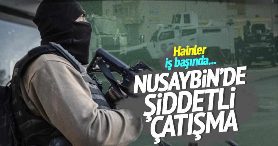 Nusaybin'de şiddetli çatışma