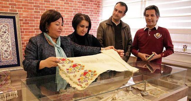 200 yıllık 'desenler' müzeye dönüştü